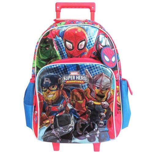 """Super Hero Adventure Mochila ccarro 18"""" c bolsillo"""