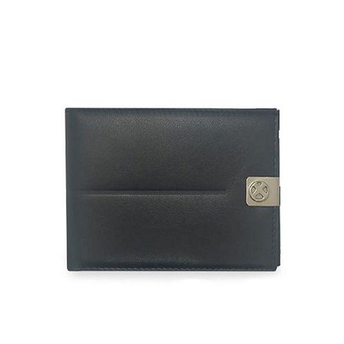Billetera Unicross de cuero c/ linea horizontal c/ tarjetero