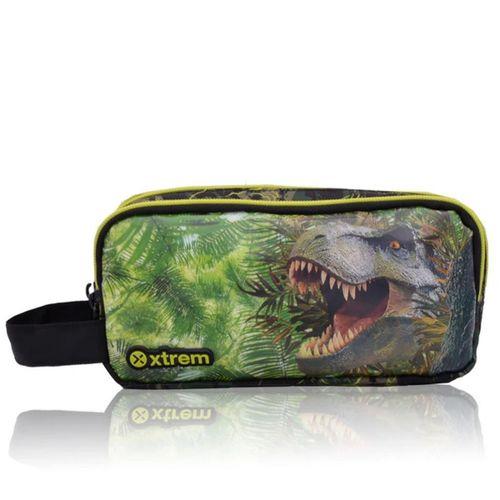 Cartuchera Xtrem University 108 3D Dino